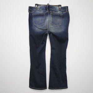 torrid Jeans - Torrid Dark Wash Stretchy Bootcut Jeans